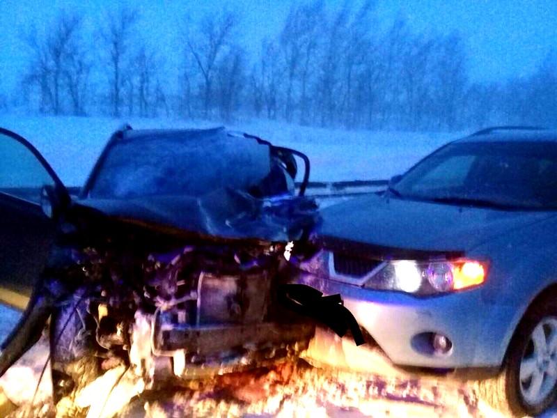 Вмассовом ДТП савтопоездом умер шофёр «Toyota RAV4»