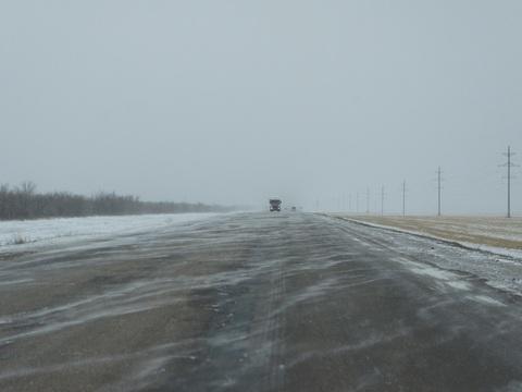 Непогода. Закрыт проезд через границу между Казахстаном иРоссией