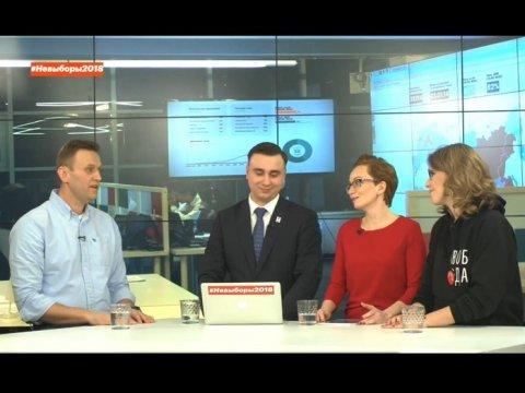 Навальный отказался сотрудничать сСобчак иобвинил еевлицемерии