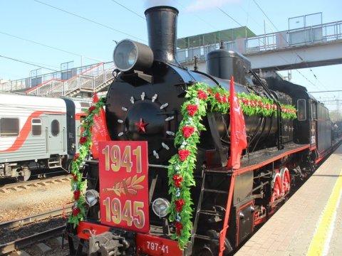 Машинисты поезда «Победа» угощали граждан России яичницей слопаты