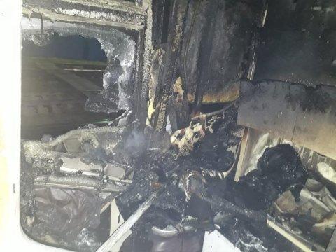 Адлер: ВРостовской области зажегся вагон поезда Саратов