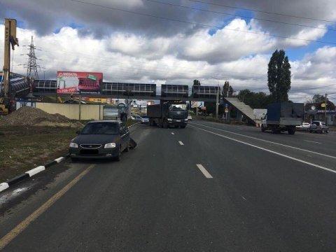 В результате ДТП на выезде из Саратова пострадала женщина