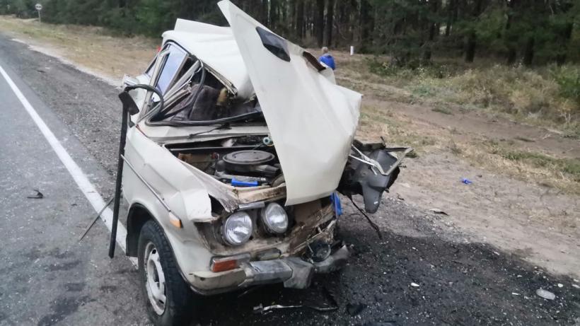 ГИБДД об аварии с фурой на саратовской трассе: ВАЗ допустил выезд на полосу встречного движения