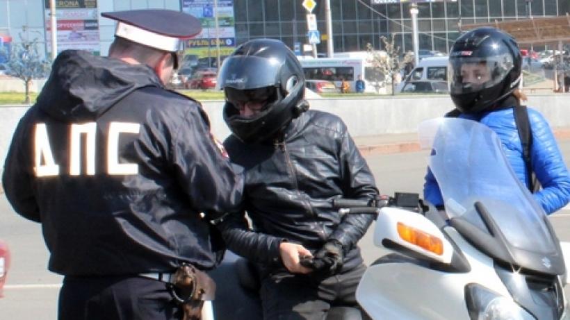 В Саратове инспекторы два дня будут ловить мотоциклистов-нарушителей