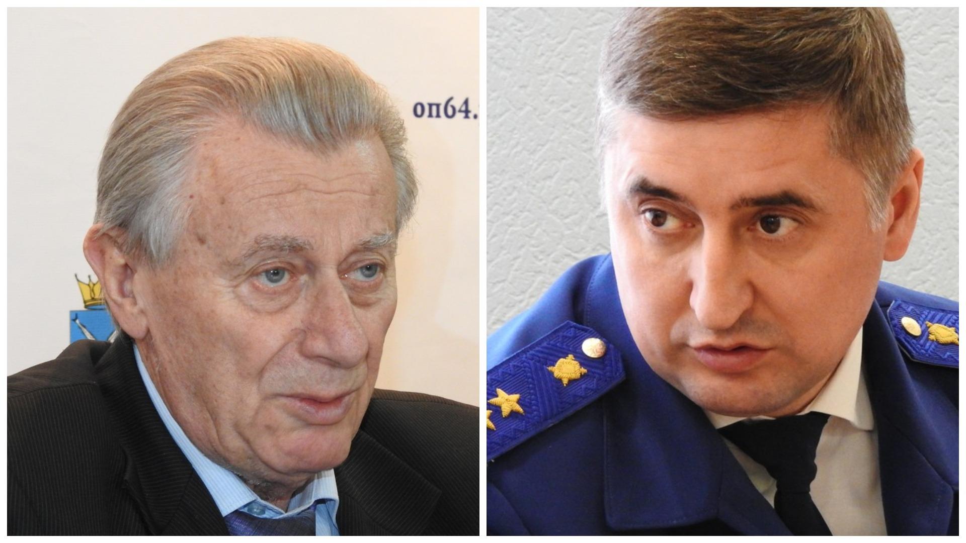 Ландо потребовал добровольной отставки областного прокурора Филипенко