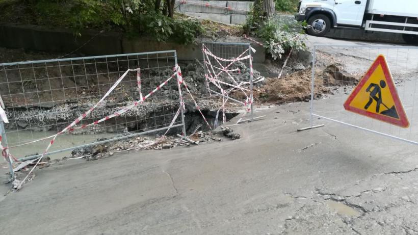 Жители Заводского района до вечера остались без воды