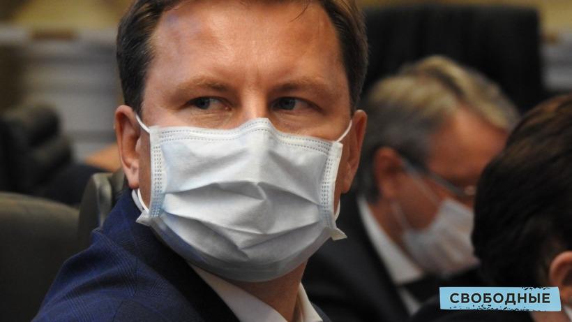 После критики Володина губернатор объявил выговор саратовскому министру финансов Ойкину